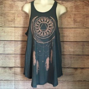 O'Neill high neck tank top dream catcher